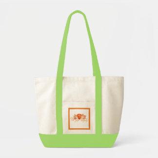 sac de couche-culotte de bébé d'aquarelle de