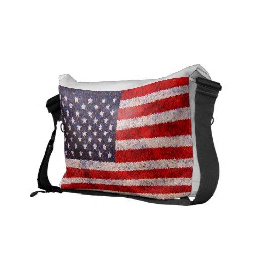 Sac de drapeau américain besaces