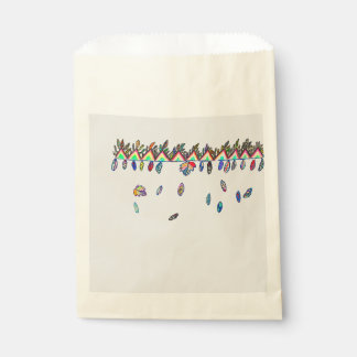sac de faveur de cadeau d'automne sachets en papier