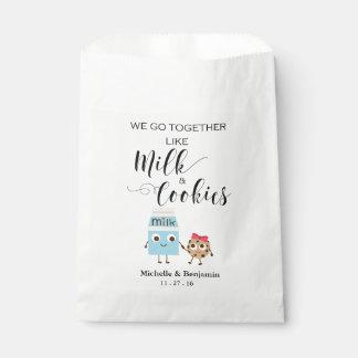 Sac de faveur de mariage - nous allons ensemble sachets en papier