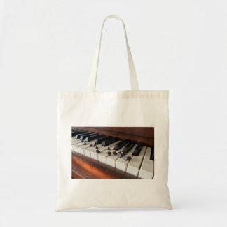Sac de fourre-tout de puces de piano et de