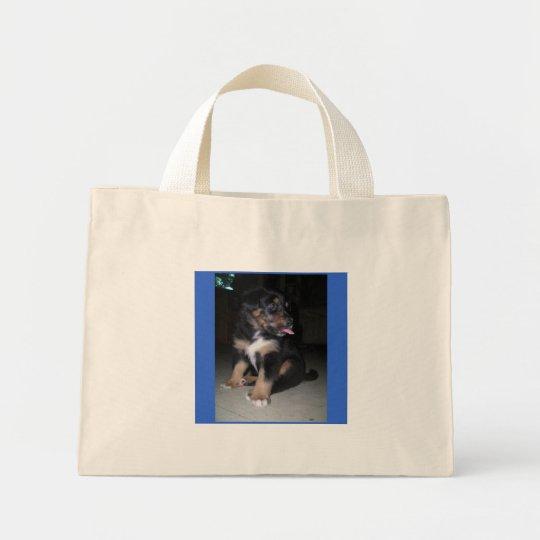 sac de framboise de chiot