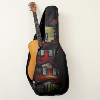 Sac de guitare acoustique, cas (fièvre de guitare)