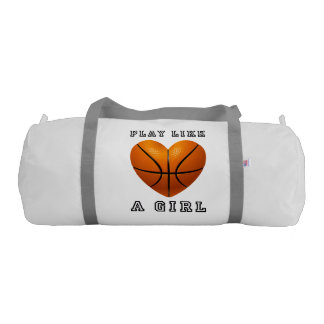 Sac De Gym Le jeu aiment un basket-ball de fille