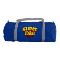 Super héros bleu jaune rouge de fête des pères de cbc4a93596b