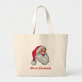 Sac de Joyeux Noël de Père Noël