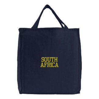 Sac de l'Afrique du Sud Sacs Brodés