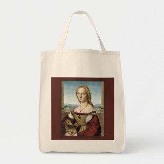 Sac de licorne et de Madame épicerie par Raphael