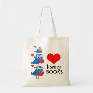 sac de livres de bibliothèque