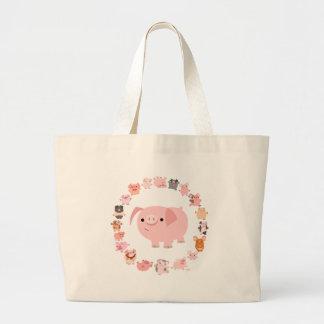 Sac de mandala de porc