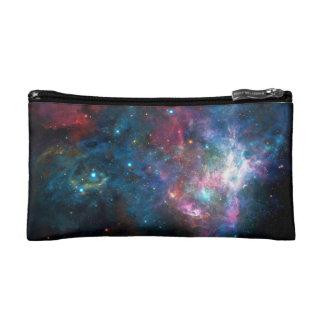 Sac de maquillage de nébuleuse de galaxie d'espace