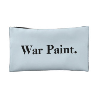 """sac de maquillage """"de peinture de guerre"""" trousses de maquillage"""