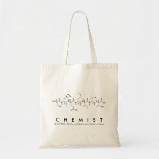 Sac de nom de peptide de chimiste