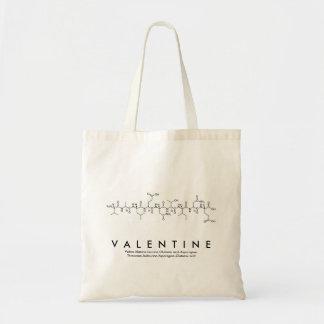 Sac de nom de peptide de Valentine