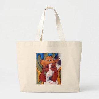 sac de plage de chien de désert de Bungalowart.com