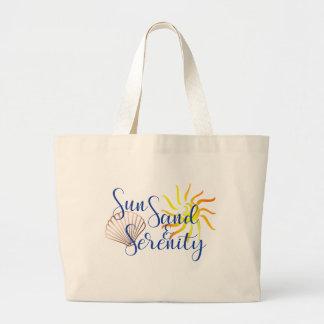 Sac de plage de sérénité de sable de Sun grand