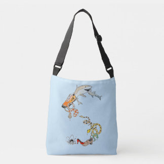 Sac de requins et de serpents