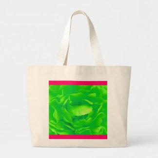 Sac de rose vert - personnalisable
