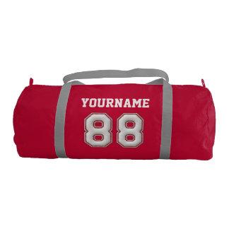 Sac De Sport Base-ball personnalisé numéro 88 avec votre nom
