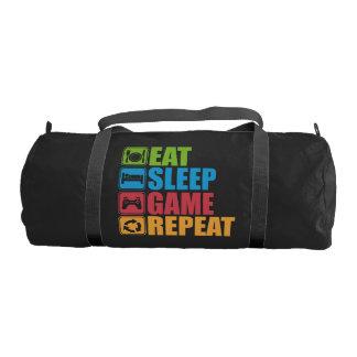 Sac De Sport Jeu - mangez, dormez, jeu, répétition - Gamer,