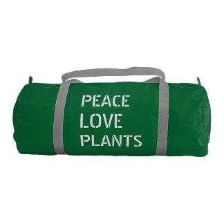 Sac De Sport L'amour de paix plante le molleton