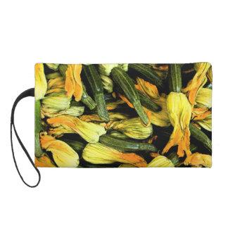 Sac de Venise à la maison - fleurs de courgette Pochettes Avec Dragonne