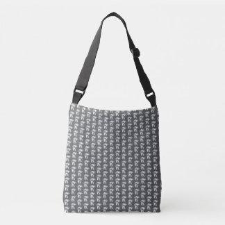 sac d'épaule géométrique de tulipes