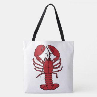 Sac d'épaule nautique de croix de plage de homard