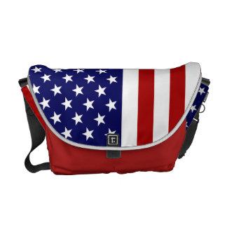 Sac des Etats-Unis avec le drapeau américain Besace