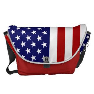 Sac des USA avec le drapeau américain Besaces
