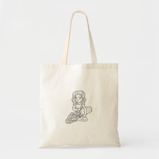 Sac d'illustration de Verseau