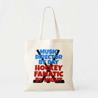 Sac Directeur musical d'amant d'hockey