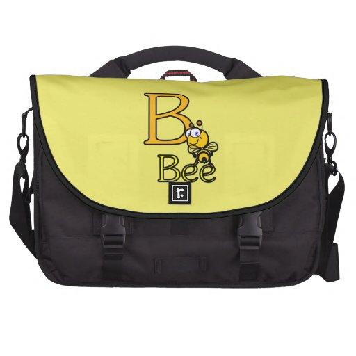 Sac d'ordinateur portable d'abeille sac pour ordinateurs portables