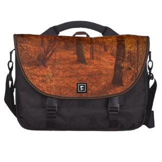 Sac d'ordinateur portable d'arbres d'automne de sacs ordinateur portable