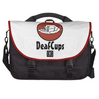 Sac d'ordinateur portable de DeafCups Sacs Pour Ordinateur Portable