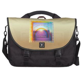 """Sac d'ordinateur portable de la """"vie de l'amour"""" sac pour ordinateur portable"""
