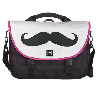 Sac d'ordinateur portable de moustache sacoche ordinateur portable