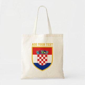 Sac Drapeau de la Croatie personnalisé