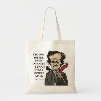 Sac drôle de citation d'Edgar Allan Poe