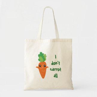 Sac Drôle je ne fais pas carotte toute la bande