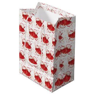 Sac du cadeau de Valentine