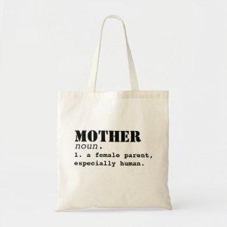 Sac du jour de mère de définition de mère