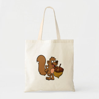 Sac Écureuil de bande dessinée avec l'écrou
