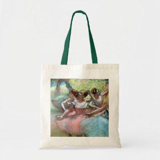 Sac Edgar Degas | quatre ballerines sur l'étape