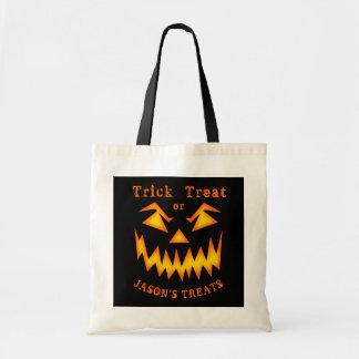 Sac effrayant personnalisé de Halloween de