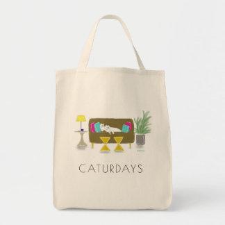 """Sac Épicerie Fourre-tout de """"CATURDAYS"""""""