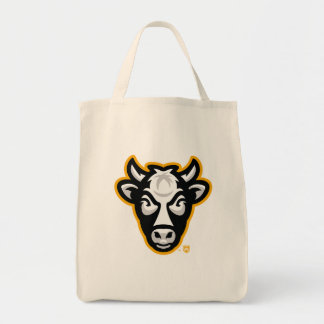 Sac Épicerie Fourre-tout de logo de vache au Wisconsin
