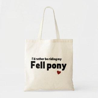 Sac Est tombé le poney