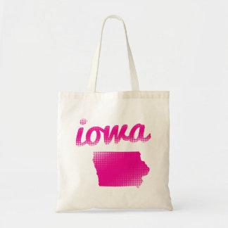 Sac État de l'Iowa dans le rose