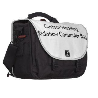 Sac fait sur commande de banlieusard de Rickshaw Sacoches Pour Ordinateurs Portables